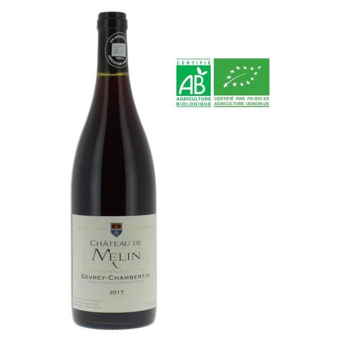 Château de Melin 2017 Gevrey-Chambertin - Vin rouge de Bourgogne BIO
