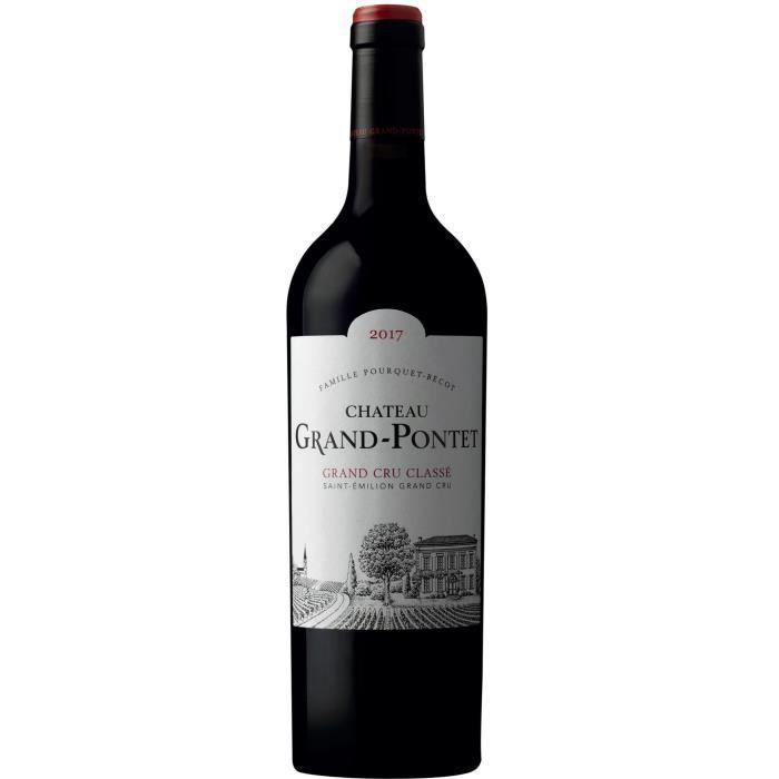 Château Grand-Pontet 2017 Saint-Emilion Grand Cru Classé - Vin rouge de Bordeaux