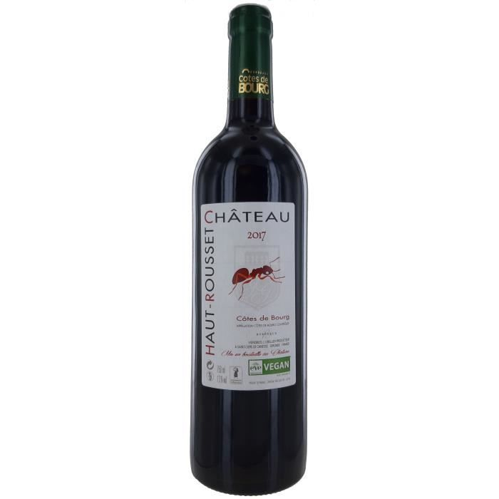 Château Haut-Rousset 2017 Côtes De Bourg - Vin Rouge de Bordeaux