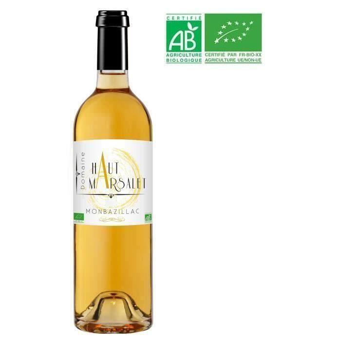 Domaine Haut Marsalet 2018 Monbazillac - Vin blanc du Sud Ouest - Bio