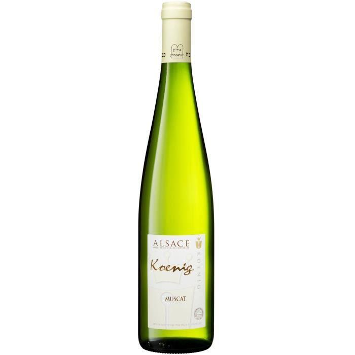 KOENIG Muscat 2017 Grand Vin d'Alsace Casher - Vin blanc d'Alsace