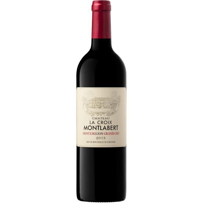 Château La Croix Montlabert 2016 Saint-Emilion Grand Cru - Vin rouge de Bordeaux