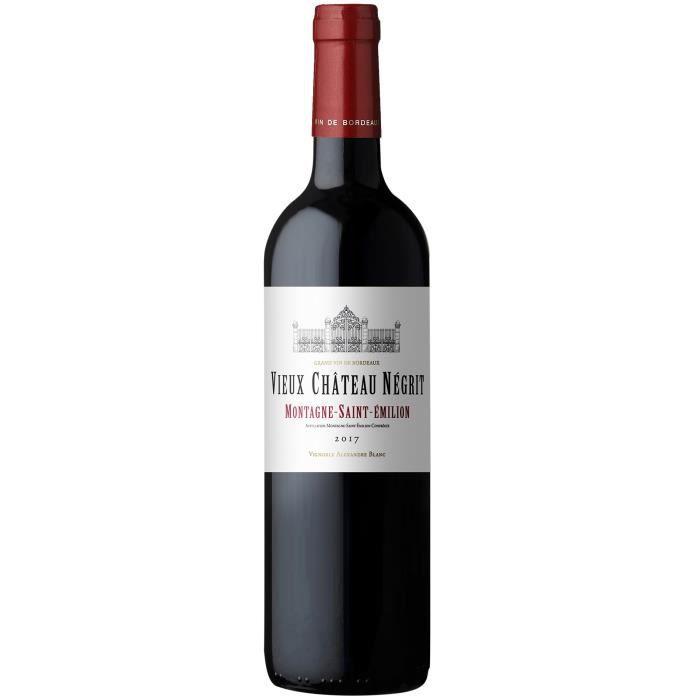 Vieux Château Négrit 2017 Montagne-Saint-Emilion - Vin rouge de Bordeaux