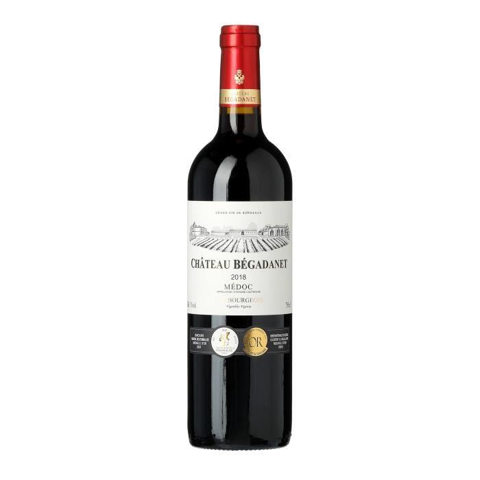 Château Begadanet 2018 Médoc Cru Bourgeois - Vin rouge de Bordeaux