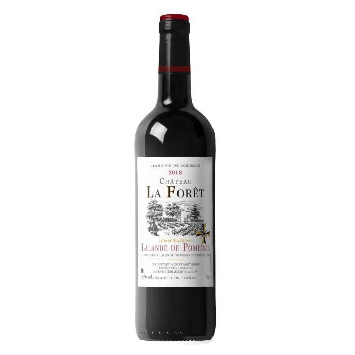 Château La Forêt 2018 Lalande de Pomerol - Vin rouge de Bordeaux