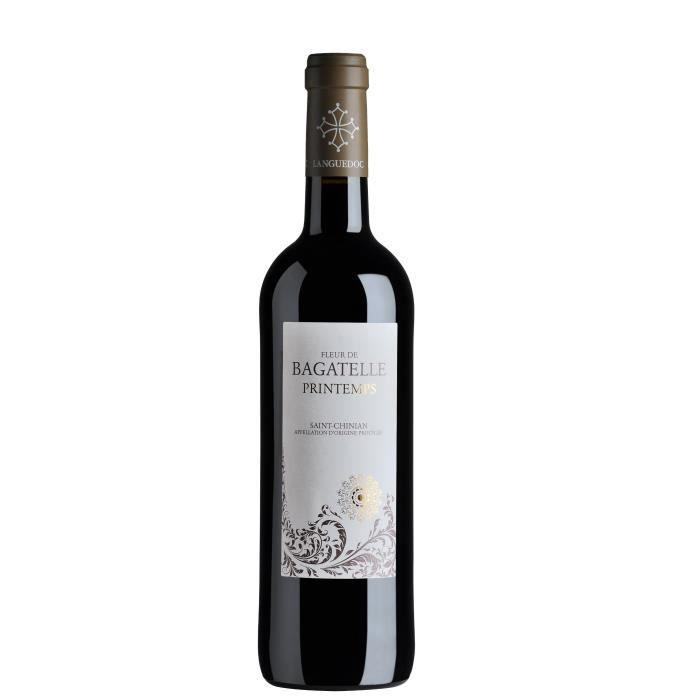 Fleur de Bagatelle 2018 Saint-Chinian - Vin rouge du Languedoc-Roussillon