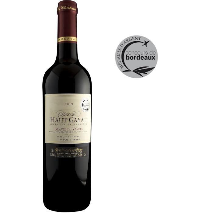 Château Haut Gayat 2018 Graves de Vayres - Vin rouge de Bordeaux