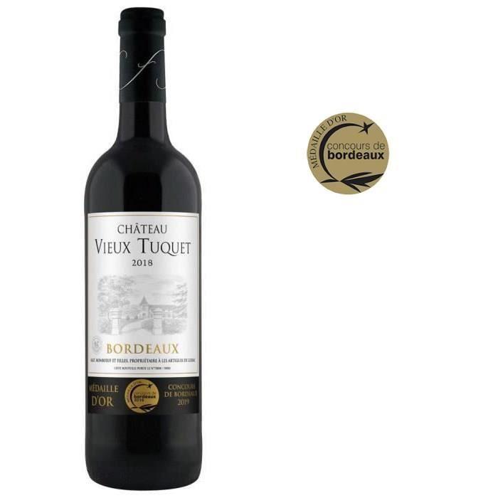 Château Vieux Tuquet 2018 Bordeaux - Vin rouge de Bordeaux