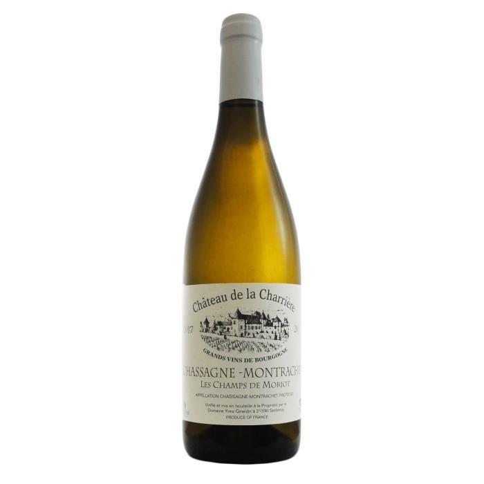 Château Charrière 2019 Chassagne-Montrachet Champs de Morjots - Vin blanc de Bourgogne