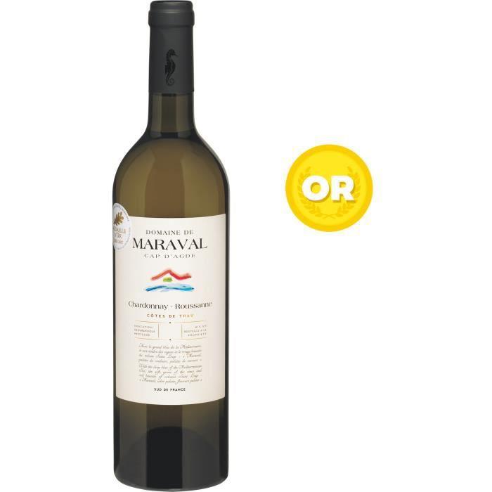 Les Caves Richemer Domaine de Maraval 2019 Côtes de Thau - Vin blanc de Languedoc