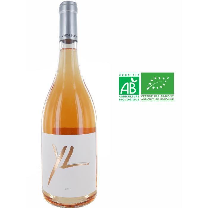 Domaine Yves Leccia Cuvée YL 2019 Ile de Beauté - Vin rosé de Corse - Bio