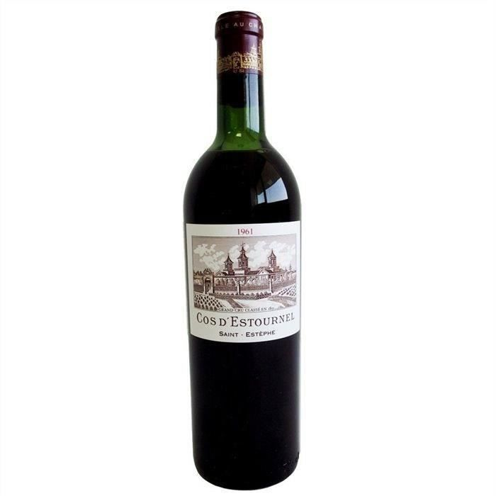 Cos d'Estournel 1961 Saint-Estèphe Grand Cru - Vin rouge de Bordeaux