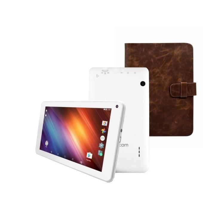 LOGICOM Tablette Tactile L-Ement TAB 744P - 7' HD - 1Go RAM - Android 6.0 - Quad Core - Stockage 8Go + PORT Etui universel 7\