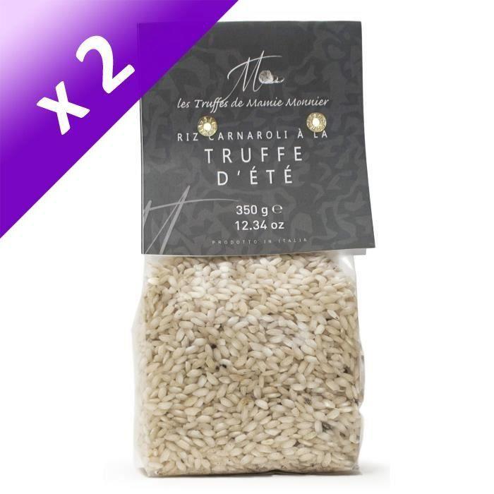 [LOT DE 2] LES TRUFFÉS DE MAMIE MONNIER Risotto riz à la truffe blanche - 350 g