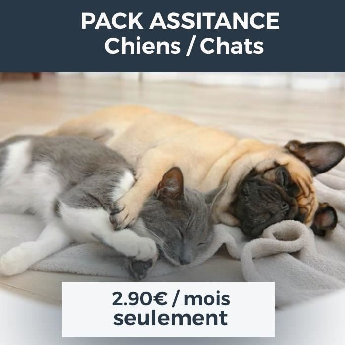 Pack Assistance chiens chats 2018