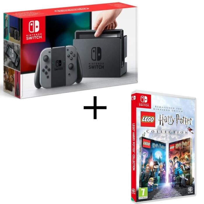 Pack nintendo switch grise lego harry potter