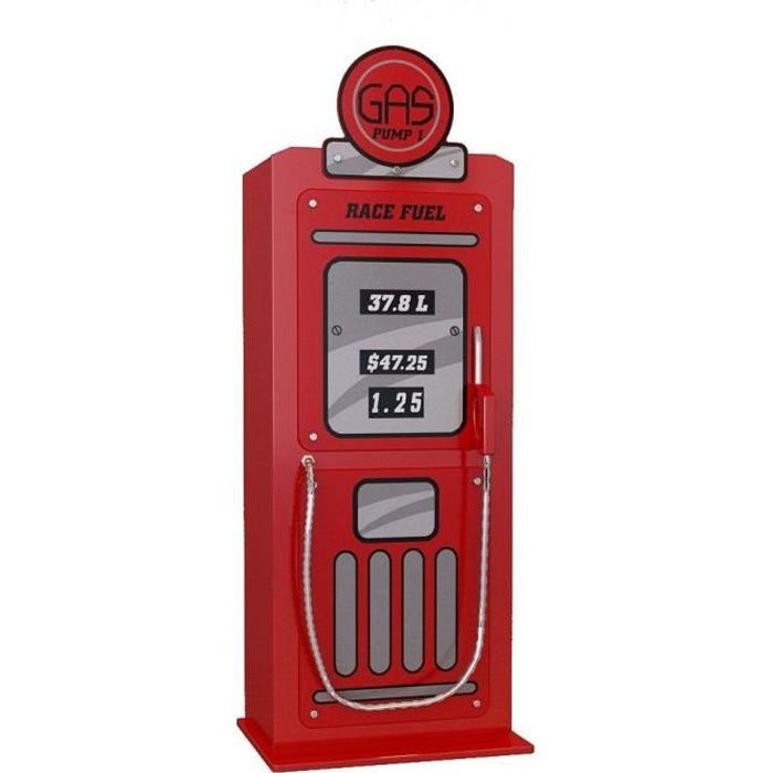 FUN Armoire Gas Pump rouge