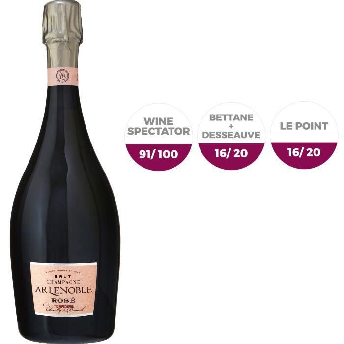 Champagne A.R. Lenoble Terroirs Rosé - 75 cl