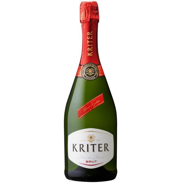 Kriter Brut - Vin effervescent blanc