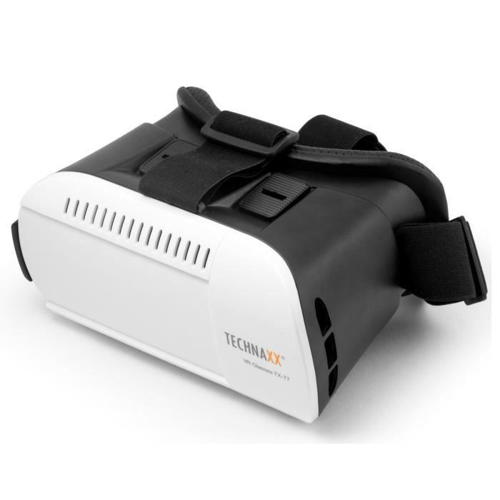 Technaxx Lunettes de réalité virtuelle pour les Smartphone