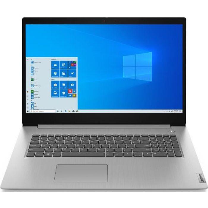 PC portable Ultrabook - LENOVO Ideapad IP 3 17ADA05 - 17,3''HD - AMD 3020E - RAM 4Go - Stockage 1To - Windows 10 - AZERTY