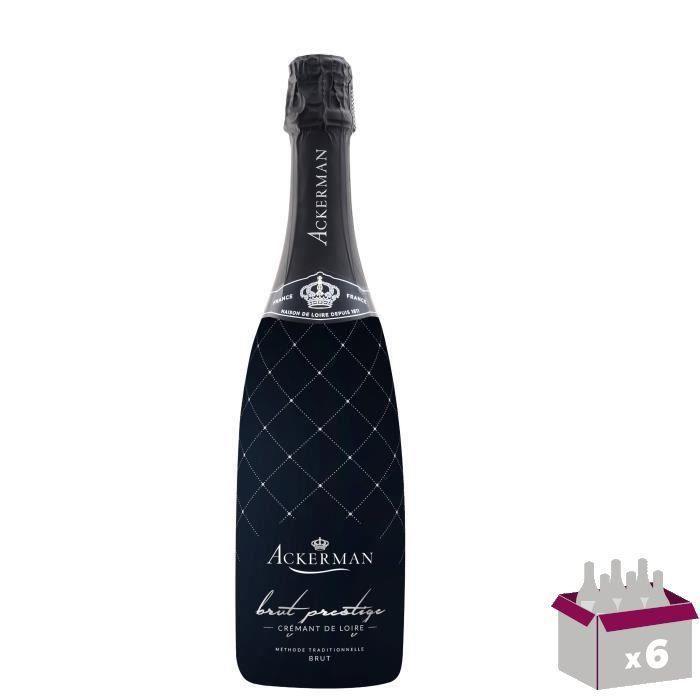 Ackerman Crémant de Loire Prestige Blanc Brut 75cl