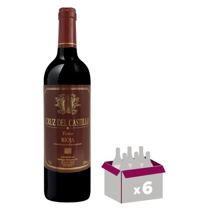 Cruz Del Castillo Rioja - Vin rouge d'Espagne