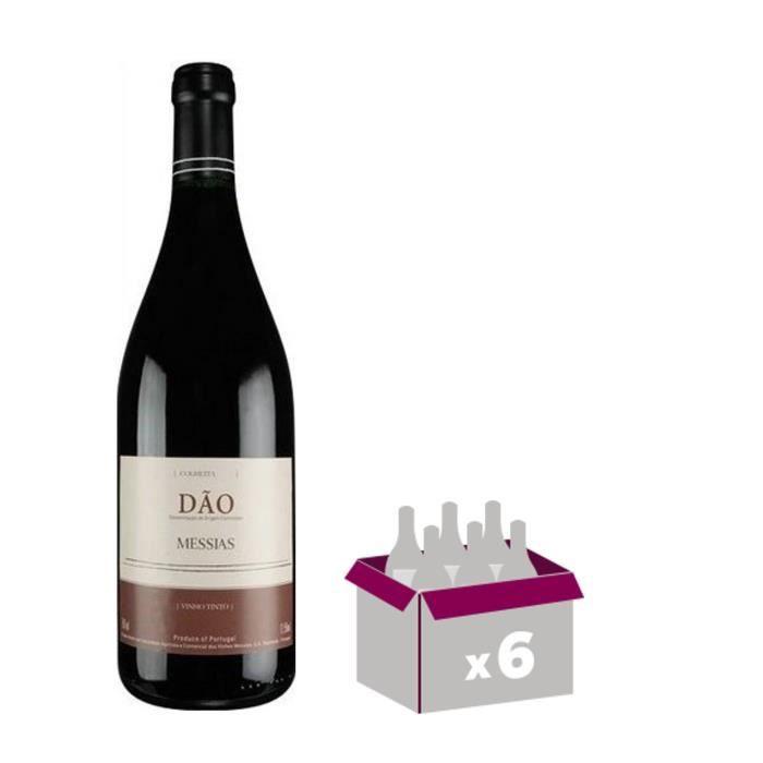 MESSIAS Dao Tinto Vin du Portugal - Rouge - 75 cl x 6