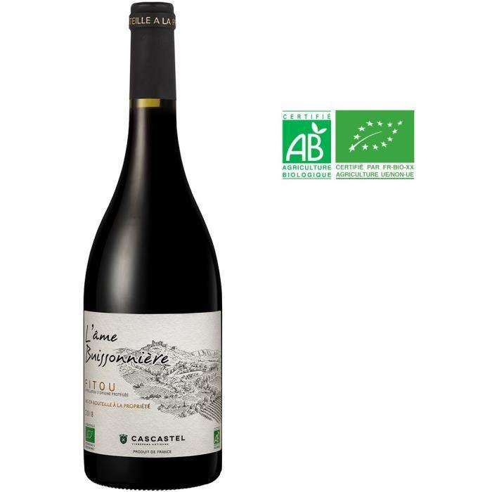 L'âme Buissonniére 2018 Fitou - Vin rouge de Languedoc - Bio