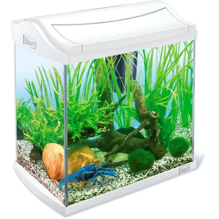 TETRA Aquarium AquaArt 30 L - Blanc - Pour crevette