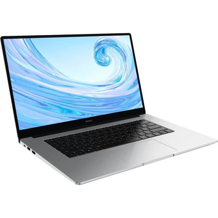 PC Portable - HUAWEI MateBook D 15 (2021) - 15,6- FHD - Core i3-10110U - RAM 8 Go - Stockage 256 Go SSD - Windows 10 - AZERTY