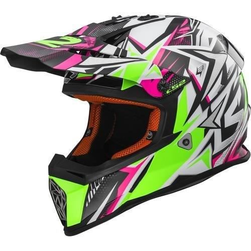 LS2 Casque Cross Fast Strong