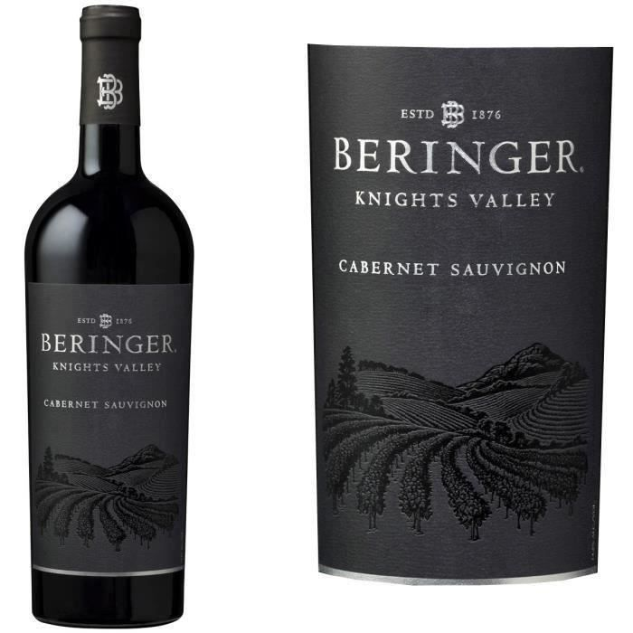 Beringer Knights Valley Californie Cabernet Sau...