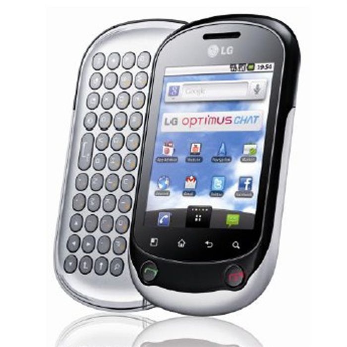 Lg Smartphone LG Optimus Chat silver