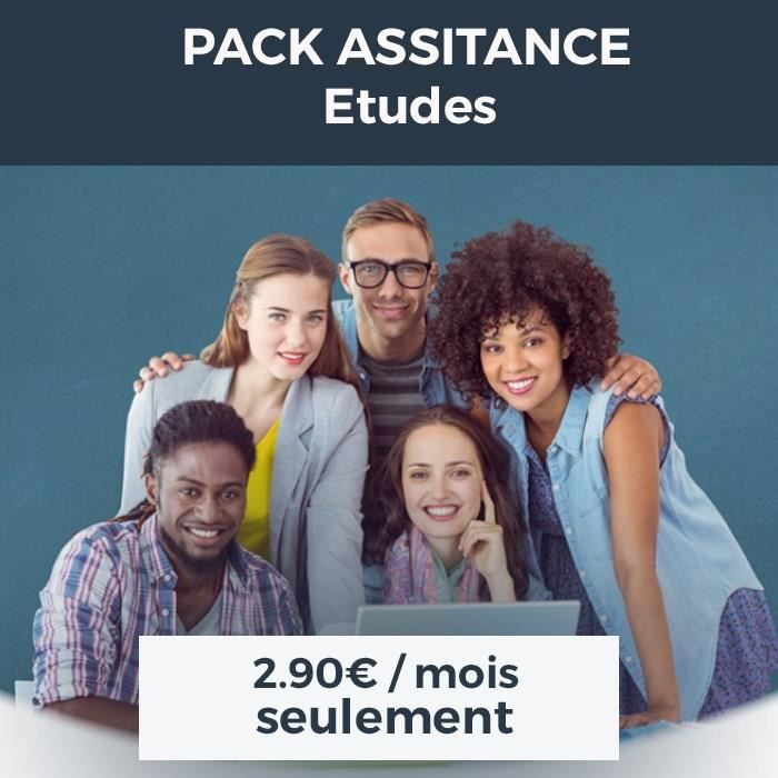 Pack Assistance Etudes 2018