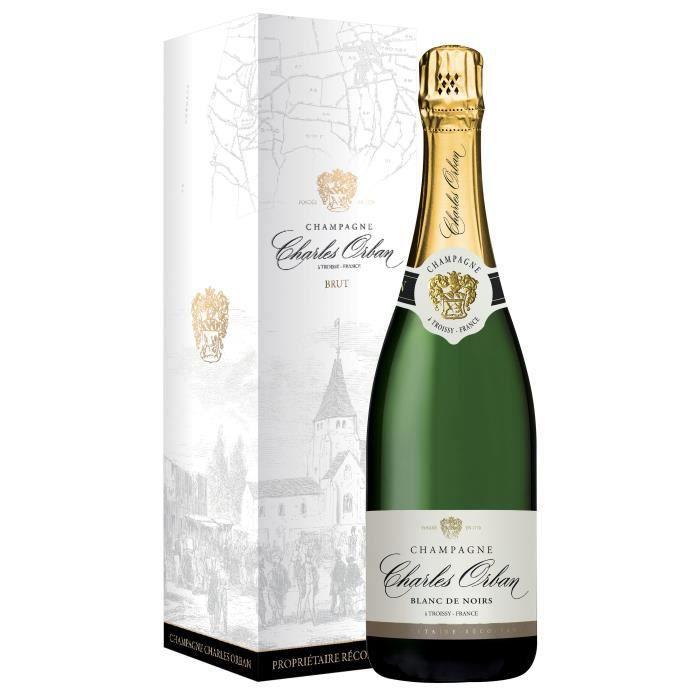 Champagne Charles Orban Blanc de Noirs avec étui