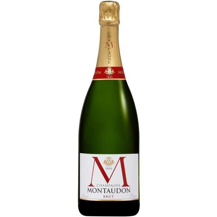Magnum Champagne Montaudon Brut avec étui - 150 cl