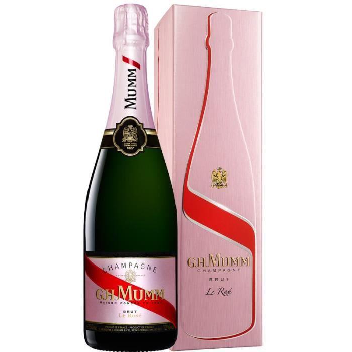 Champagne Mumm Rosé avec étui - 75 cl