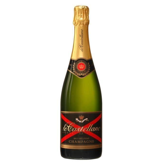 Champagne De Castellane Brut millésimé - 2010