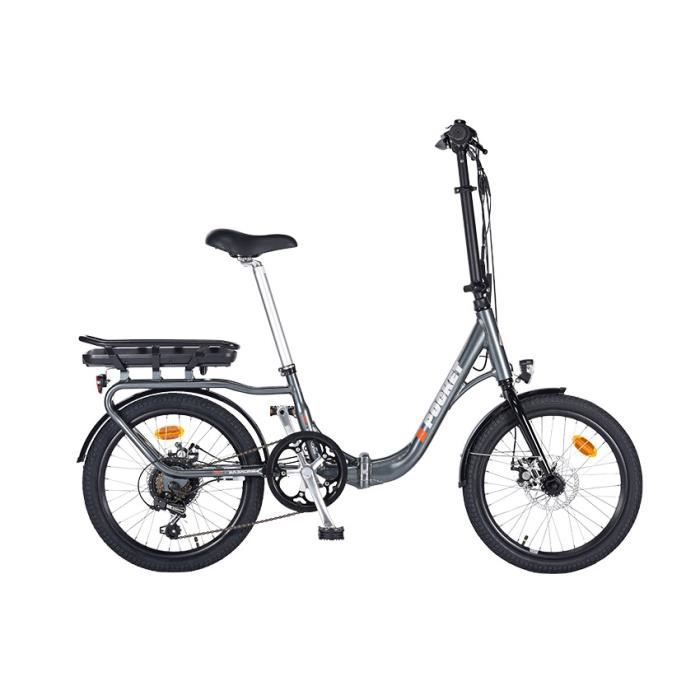 MAKADAM Vélo à Assistance Electrique E-POCKET 20-pliant 6V