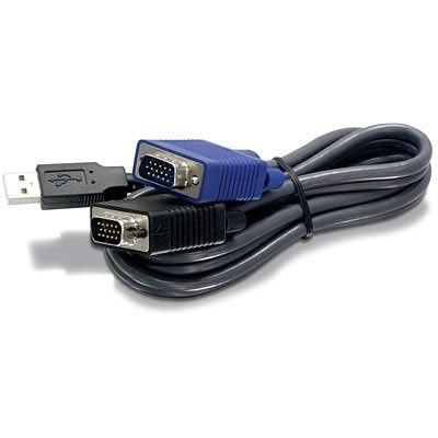 TRENDnet TK-CU10 - Cable pour KVM USB 3m male/male
