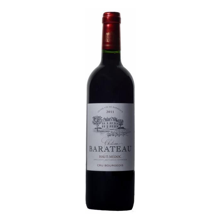 Château Barateau 2011 Haut-Médoc Cru Bourgeois - Vin Rouge de Bordeaux