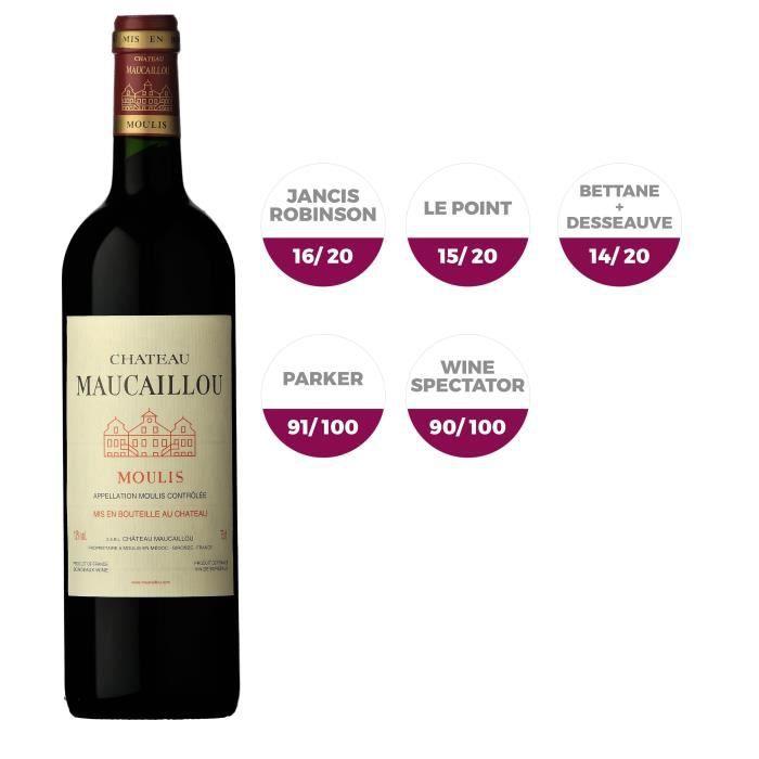 Château Maucaillou 2014 Moulis - Vin rouge de Bordeaux