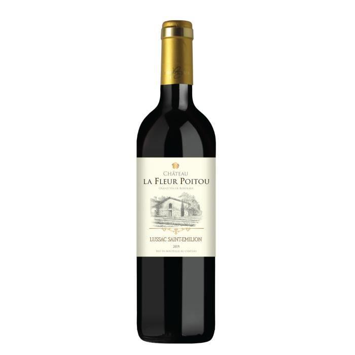 Château La Fleur Poitou 2015 Lussac Saint-Emilion - Vin rouge de Bordeaux