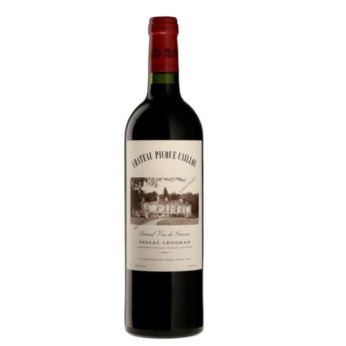 Château Picque Caillou 2016 Pessac Léognan - Vin Rouge du Bordelais
