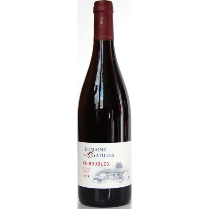 Domaine des Gatilles 2017 Chirouble - Vin rouge de la Vallée de du Rhône
