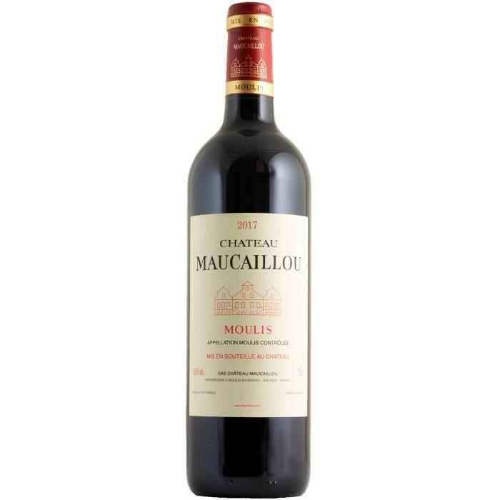 Château Maucaillou 2017 Moulis-en-Médoc - Vin rouge de Bordeaux