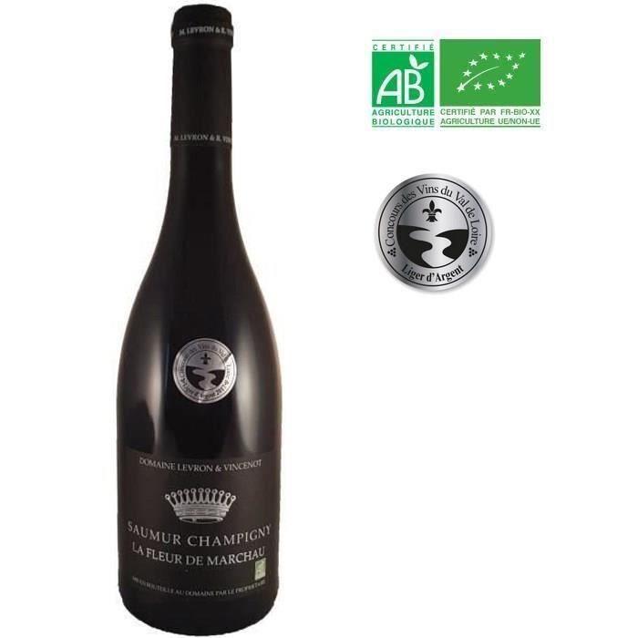 Domaine Levron & Vincenot 2018 Saumur Champigny - Vin rouge du Val de Loire - Bio