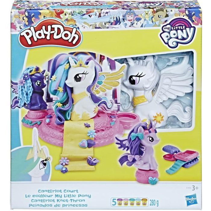 PLAY-DOH - Le Coiffeur - My Little Pony