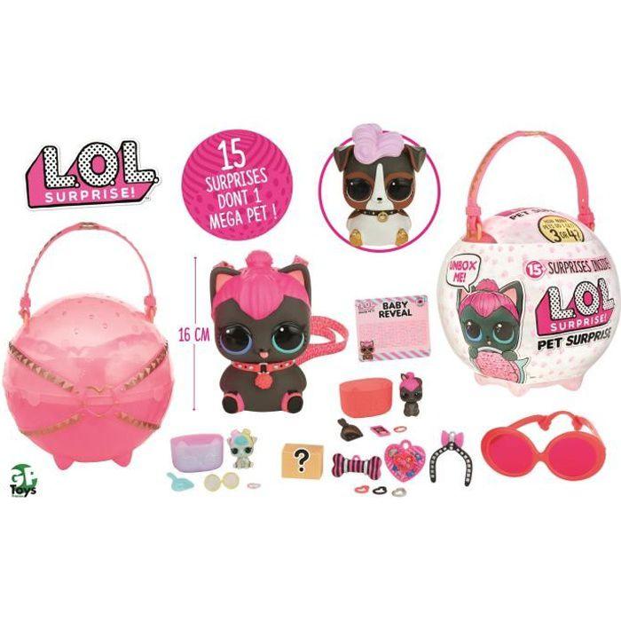 L.O.L. Surprise - Poupée LOL Pet Surprise - Modèles aléatoires